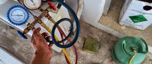 Nạp gas điều hoà tại nhà
