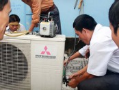 Bảo dưỡng điều hòa Mitsubishi tại hà nội